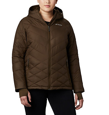 Women's Heavenly™ Hooded Jacket - Plus Size Heavenly™ Hdd Jacket | 870 | 1X, Olive Green, front