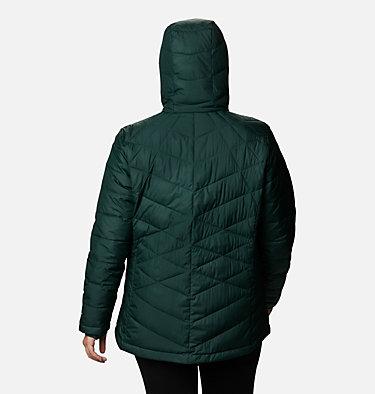 Women's Heavenly™ Hooded Jacket - Plus Size Heavenly™ Hdd Jacket   604   1X, Spruce, back