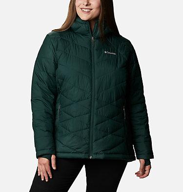 Women's Heavenly™ Hooded Jacket - Plus Size Heavenly™ Hdd Jacket   604   1X, Spruce, front