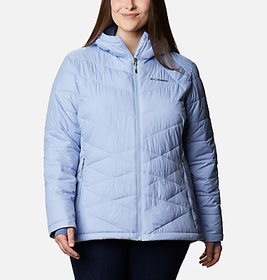 Veste à capuchon Heavenly™ pour femme - Grandes tailles Heavenly™ Hdd Jacket | 604 | 1X, Empress, front