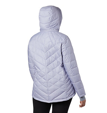 Women's Heavenly™ Hooded Jacket - Plus Size Heavenly™ Hdd Jacket | 870 | 1X, Twilight Diamonds Emboss, back