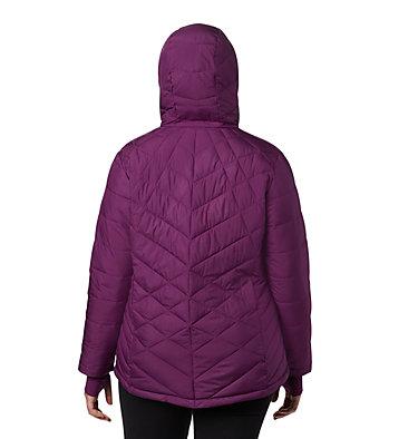 Women's Heavenly™ Hooded Jacket - Plus Size Heavenly™ Hdd Jacket | 604 | 1X, Wild Iris, back