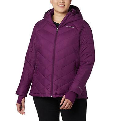 Women's Heavenly™ Hooded Jacket - Plus Size Heavenly™ Hdd Jacket | 604 | 1X, Wild Iris, front