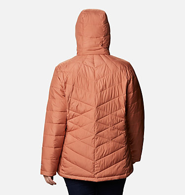 Veste à capuchon Heavenly™ pour femme - Grandes tailles Heavenly™ Hdd Jacket | 604 | 1X, Nova Pink, back