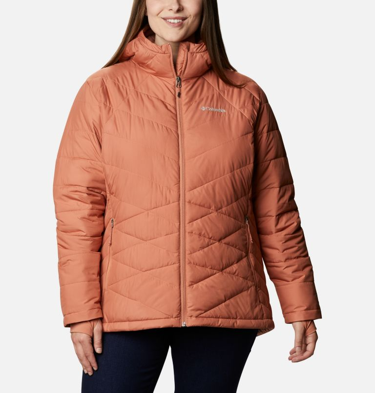 Women's Heavenly™ Hooded Jacket - Plus Size Women's Heavenly™ Hooded Jacket - Plus Size, front