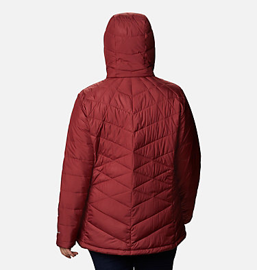 Veste à capuchon Heavenly™ pour femme - Grandes tailles Heavenly™ Hdd Jacket | 604 | 1X, Marsala Red, back