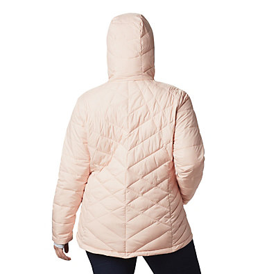 Women's Heavenly™ Hooded Jacket - Plus Size Heavenly™ Hdd Jacket | 870 | 1X, Peach Cloud, back
