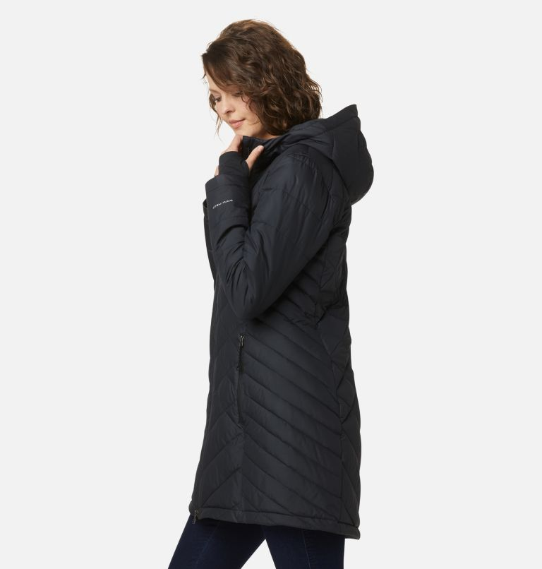 Heavenly™ Long Hdd Jacket | 010 | S Women's Heavenly™ Long Hooded Jacket, Black, a1