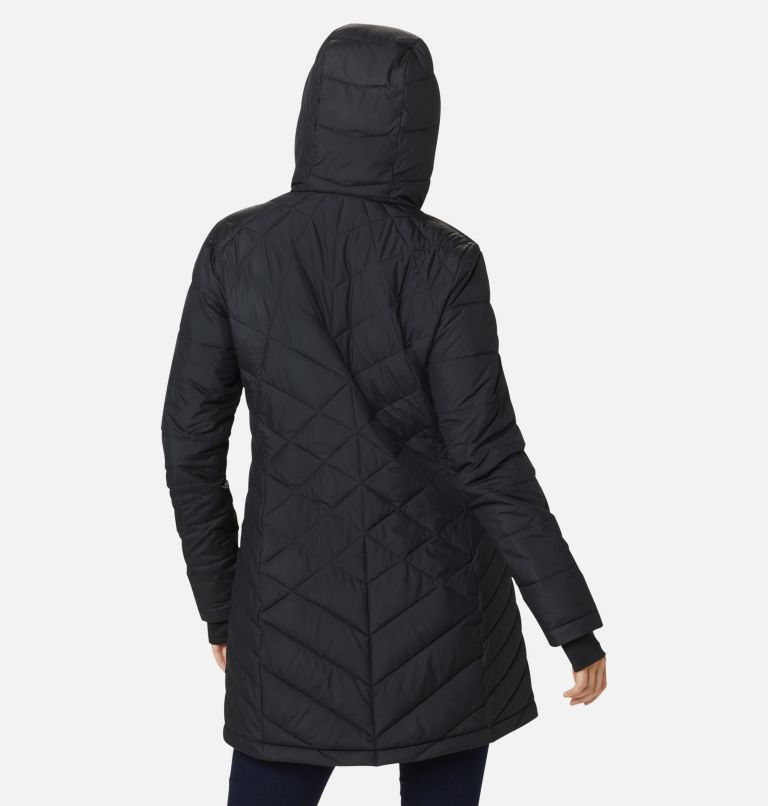 Heavenly™ Long Hdd Jacket | 010 | S Women's Heavenly™ Long Hooded Jacket, Black, back