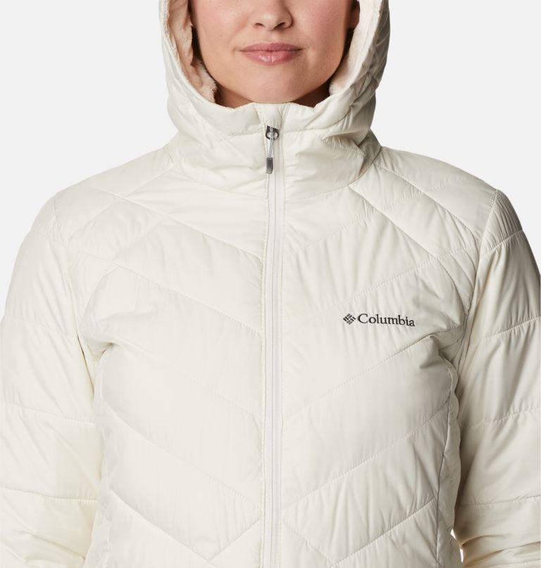 Heavenly™ Long Hdd Jacket | 191 | M Women's Heavenly™ Long Hooded Jacket, Chalk, a2