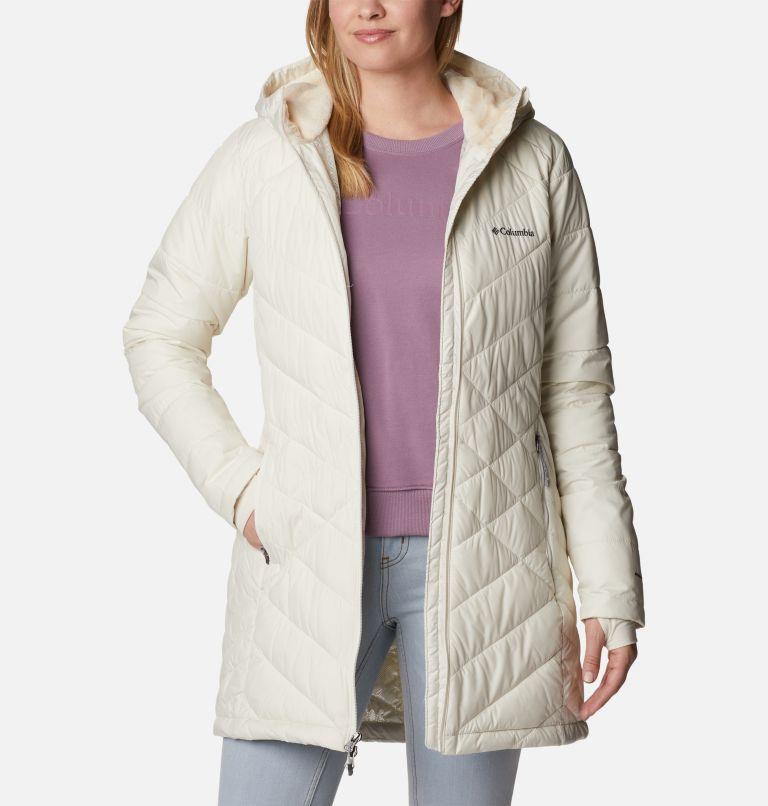 Heavenly™ Long Hdd Jacket | 191 | XL Women's Heavenly™ Long Hooded Jacket, Chalk, a5