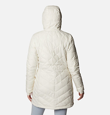 Women's Heavenly™ Long Hooded Jacket Heavenly™ Long Hdd Jacket | 671 | XL, Chalk, back