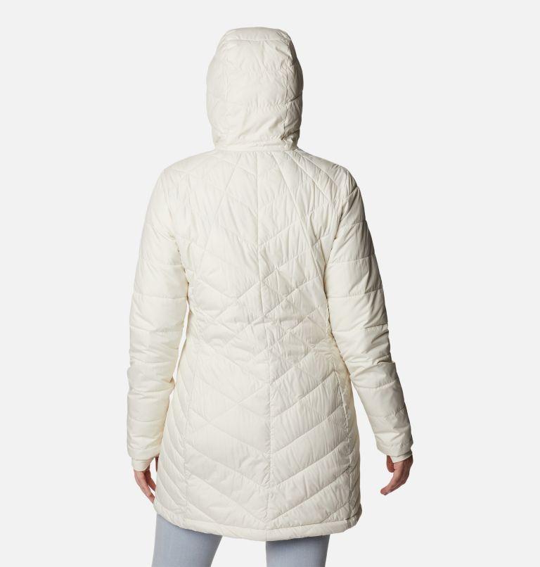 Heavenly™ Long Hdd Jacket | 191 | M Women's Heavenly™ Long Hooded Jacket, Chalk, back
