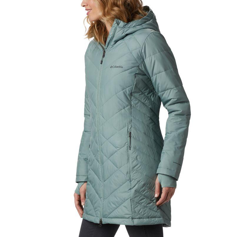 Heavenly™ Long Hdd Jacket   305   XXL Women's Heavenly™ Long Hooded Jacket, Light Lichen, a1