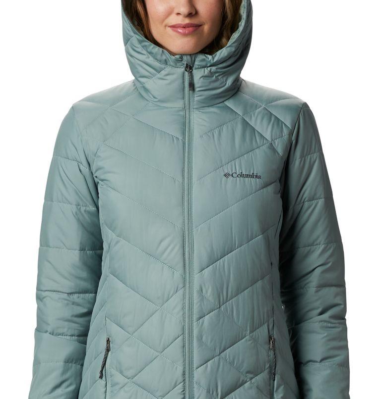 Heavenly™ Long Hdd Jacket   305   XXL Women's Heavenly™ Long Hooded Jacket, Light Lichen, a2