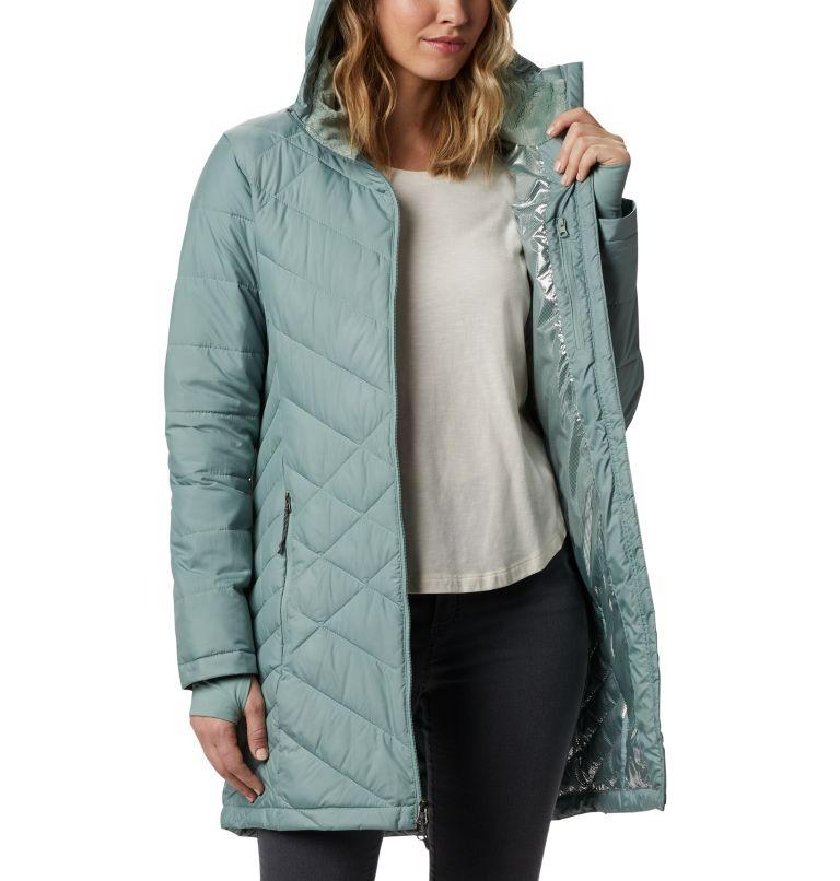Heavenly™ Long Hdd Jacket   305   XXL Women's Heavenly™ Long Hooded Jacket, Light Lichen, a3