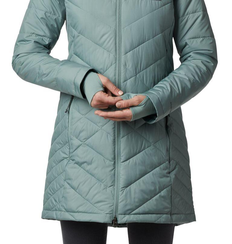 Heavenly™ Long Hdd Jacket   305   XXL Women's Heavenly™ Long Hooded Jacket, Light Lichen, a4