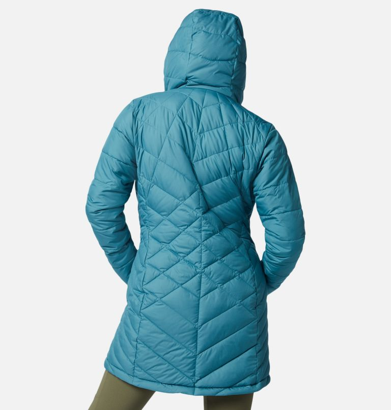Heavenly™ Long Hdd Jacket | 430 | XXL Women's Heavenly™ Long Hooded Jacket, Canyon Blue, back