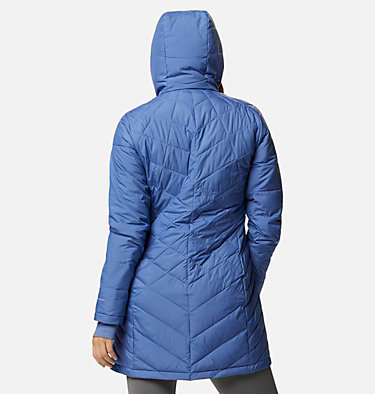 Women's Heavenly™ Long Hooded Jacket Heavenly™ Long Hdd Jacket | 458 | L, Velvet Cove, back