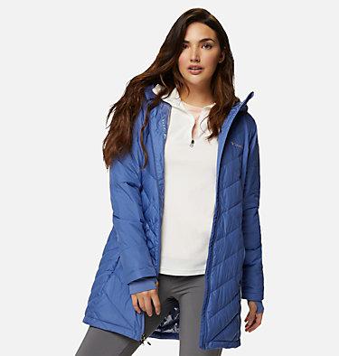 Women's Heavenly™ Long Hooded Jacket Heavenly™ Long Hdd Jacket | 458 | L, Velvet Cove, front