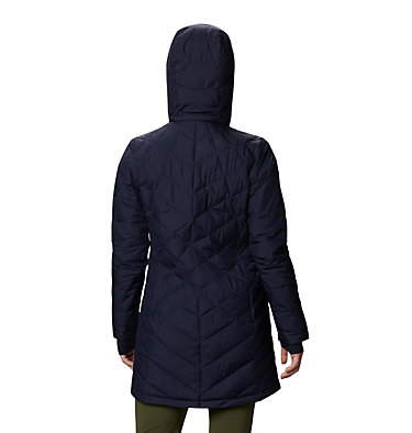 Women's Heavenly™ Long Hooded Jacket Heavenly™ Long Hdd Jacket | 671 | XL, Dark Nocturnal, back