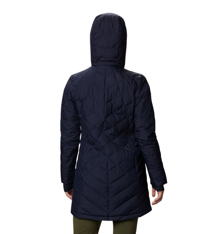Heavenly™ Long Hdd Jacket | 472 | XS Women's Heavenly™ Long Hooded Jacket, Dark Nocturnal, back