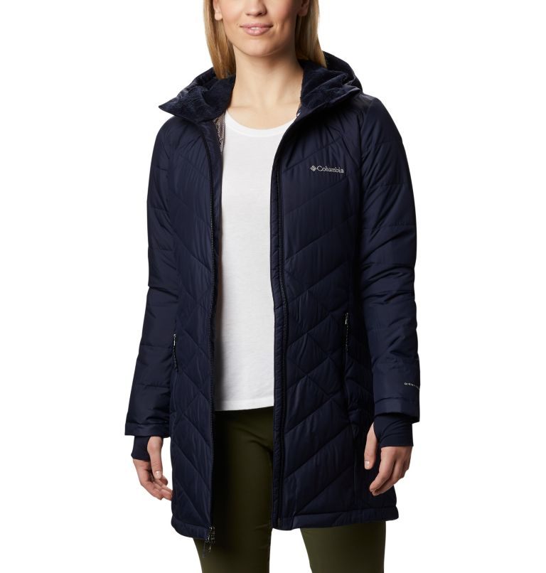 Women's Heavenly™ Long Hooded Jacket Women's Heavenly™ Long Hooded Jacket, front