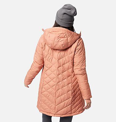 Women's Heavenly™ Long Hooded Jacket Heavenly™ Long Hdd Jacket | 671 | XL, Nova Pink, back