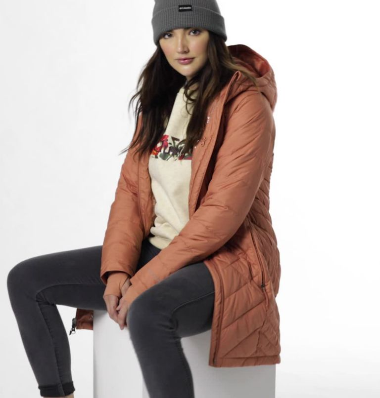 Manteau long à capuchon Heavenly™ pour femme Manteau long à capuchon Heavenly™ pour femme, video