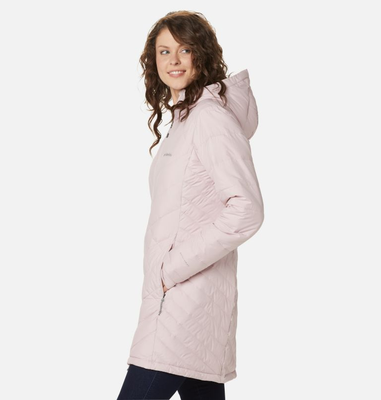 Heavenly™ Long Hdd Jacket | 618 | XS Women's Heavenly™ Long Hooded Jacket, Mineral Pink, a1