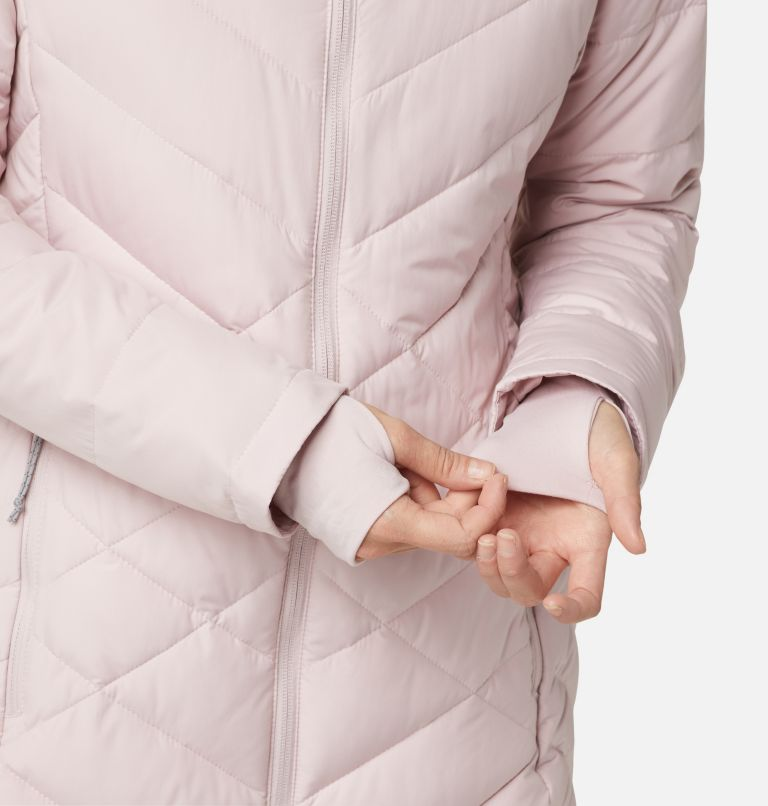 Heavenly™ Long Hdd Jacket | 618 | XS Women's Heavenly™ Long Hooded Jacket, Mineral Pink, a4