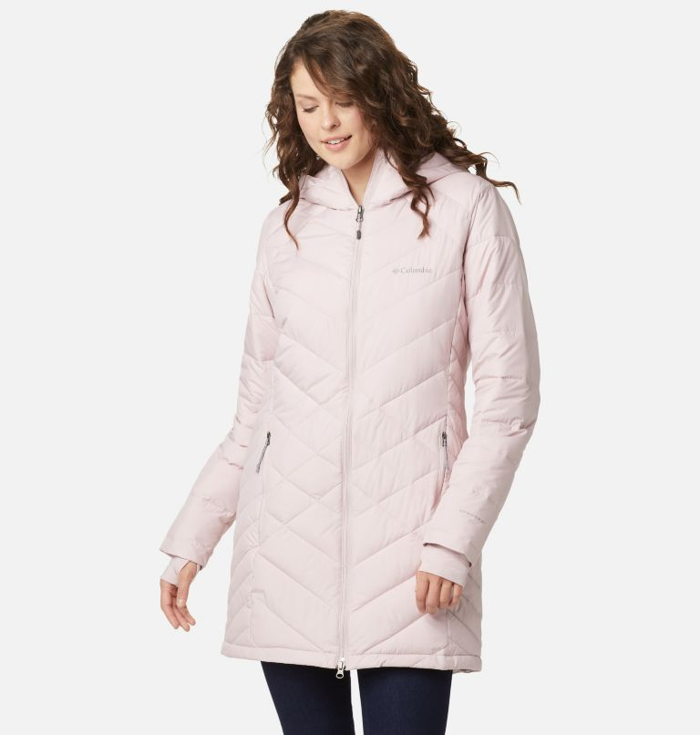 Heavenly™ Long Hdd Jacket | 618 | XS Women's Heavenly™ Long Hooded Jacket, Mineral Pink, a5