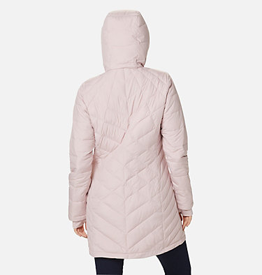 Women's Heavenly™ Long Hooded Jacket Heavenly™ Long Hdd Jacket | 671 | XL, Mineral Pink, back