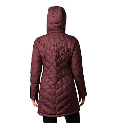 Women's Heavenly™ Long Hooded Jacket Heavenly™ Long Hdd Jacket | 671 | XL, Malbec, back