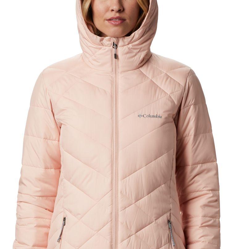 Heavenly™ Long Hdd Jacket | 870 | S Women's Heavenly™ Long Hooded Jacket, Peach Cloud, a2