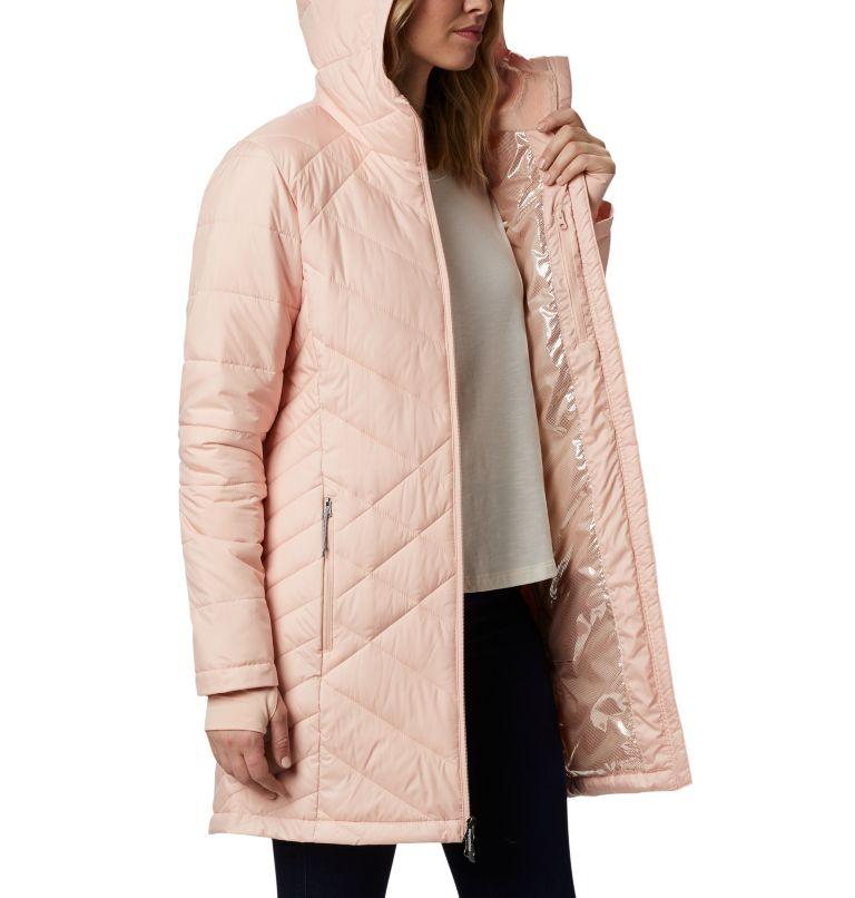 Heavenly™ Long Hdd Jacket | 870 | S Women's Heavenly™ Long Hooded Jacket, Peach Cloud, a3