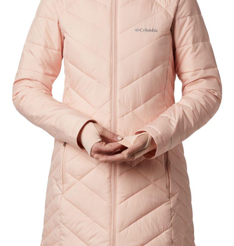 Heavenly™ Long Hdd Jacket | 870 | S Women's Heavenly™ Long Hooded Jacket, Peach Cloud, a4