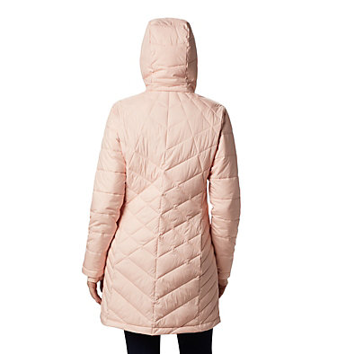 Women's Heavenly™ Long Hooded Jacket Heavenly™ Long Hdd Jacket | 671 | XL, Peach Cloud, back