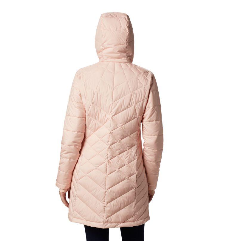 Heavenly™ Long Hdd Jacket | 870 | S Women's Heavenly™ Long Hooded Jacket, Peach Cloud, back