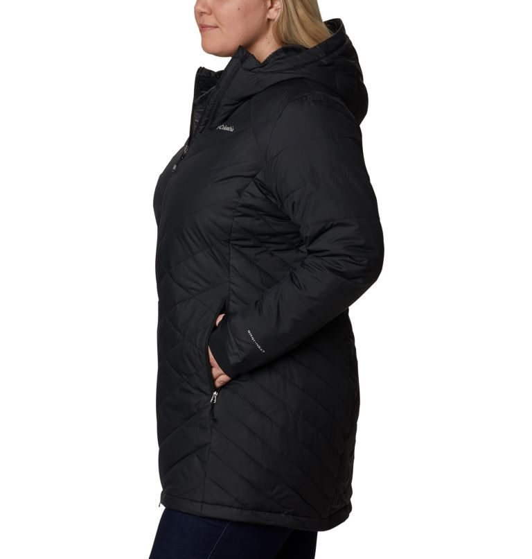 Women's Heavenly™ Long Hooded Jacket - Plus Size Women's Heavenly™ Long Hooded Jacket - Plus Size, a1