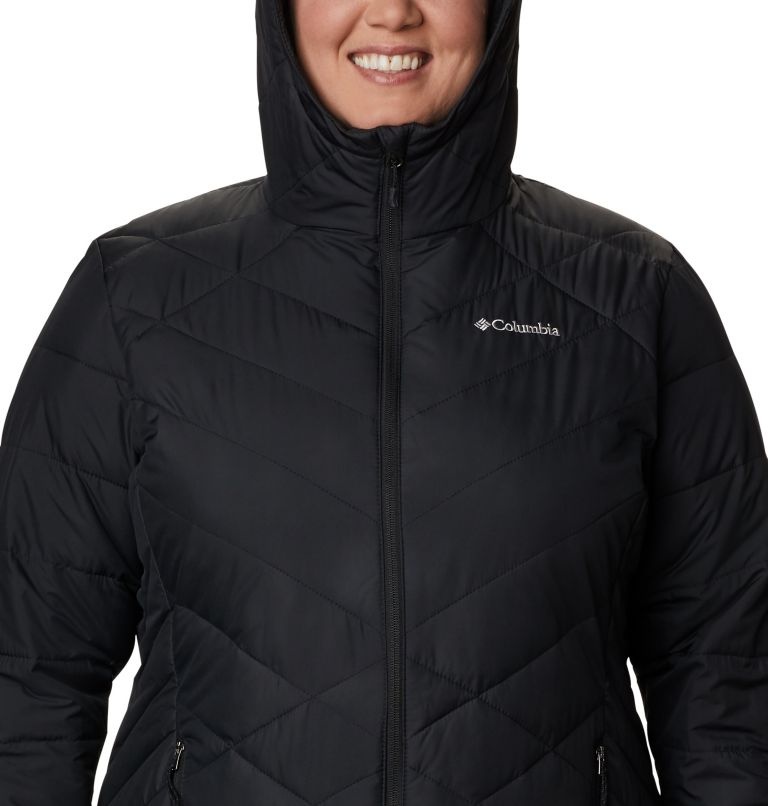 Women's Heavenly™ Long Hooded Jacket - Plus Size Women's Heavenly™ Long Hooded Jacket - Plus Size, a2