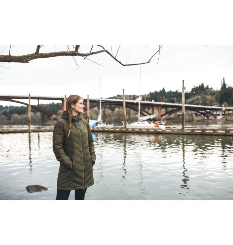 Women's Heavenly™ Long Hooded Jacket - Plus Size Women's Heavenly™ Long Hooded Jacket - Plus Size, a9