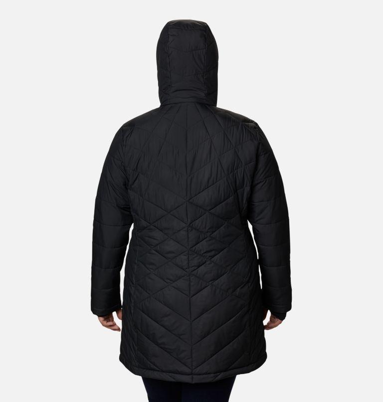 Women's Heavenly™ Long Hooded Jacket - Plus Size Women's Heavenly™ Long Hooded Jacket - Plus Size, back