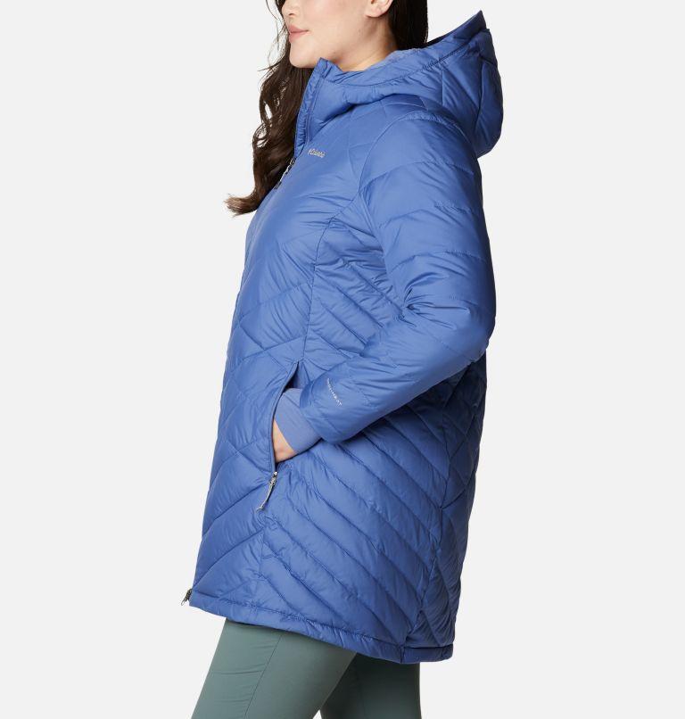 Heavenly™ Long Hdd Jacket | 458 | 2X Women's Heavenly™ Long Hooded Jacket - Plus Size, Velvet Cove, a1