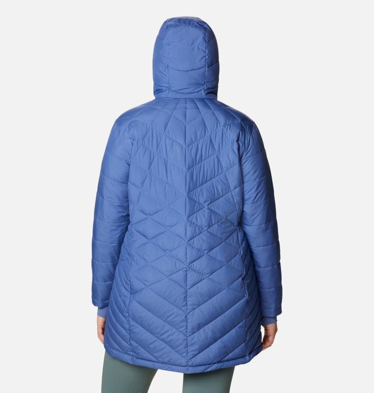Heavenly™ Long Hdd Jacket | 458 | 2X Women's Heavenly™ Long Hooded Jacket - Plus Size, Velvet Cove, back