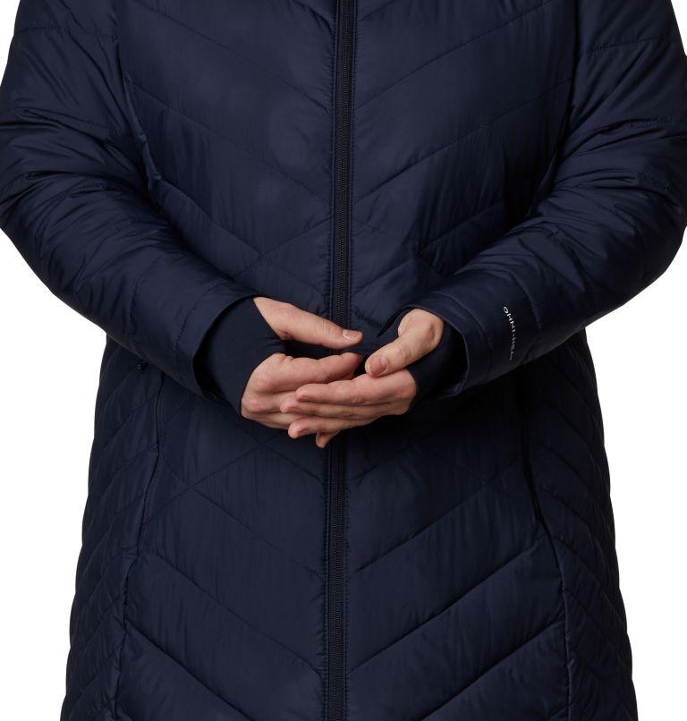 Heavenly™ Long Hdd Jacket | 472 | 2X Women's Heavenly™ Long Hooded Jacket - Plus Size, Dark Nocturnal, a4