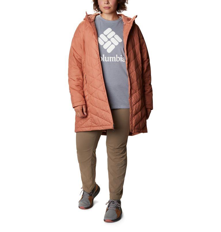 Veste longue à capuchon Heavenly™ pour femme - Grandes tailles Veste longue à capuchon Heavenly™ pour femme - Grandes tailles, front
