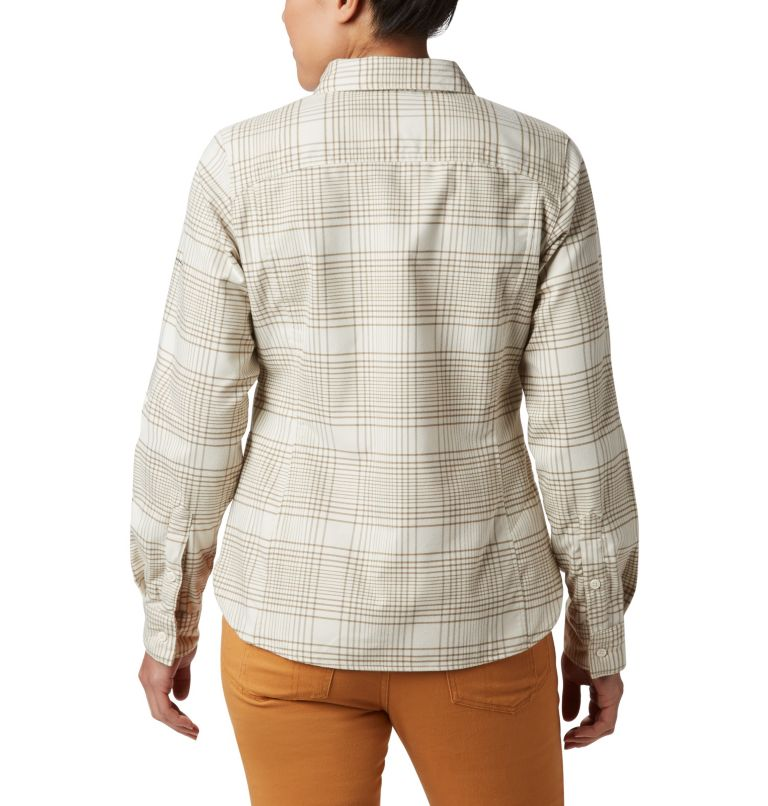 Women's Silver Ridge™ Long Sleeve Flannel Top Women's Silver Ridge™ Long Sleeve Flannel Top, back