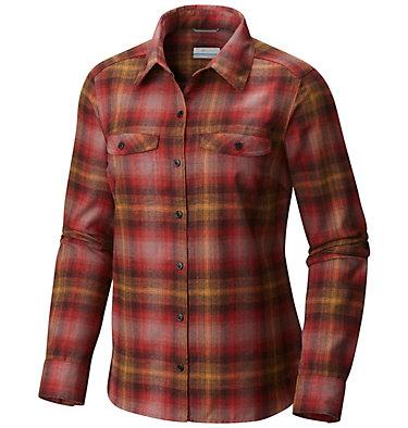 Silver Ridge™ Langarm-Flanellhemd für Damen , front