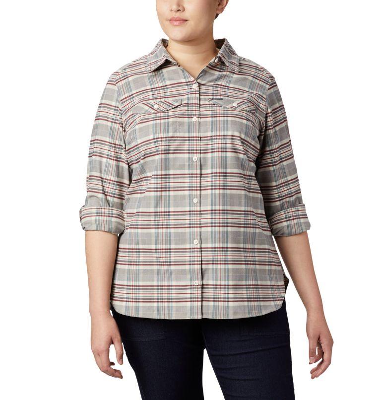 Women's Silver Ridge™ Long Sleeve Flannel Top - Plus Size Women's Silver Ridge™ Long Sleeve Flannel Top - Plus Size, a3